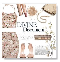 """""""Nude  d i v i n e"""" by sandralalala ❤ liked on Polyvore featuring Topshop, Stuart Weitzman, Pier 1 Imports, Charlotte Tilbury and Urban Decay"""