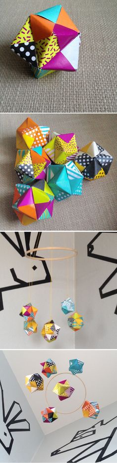 http://www.instructables.com/id/How-To-Make-An-Origami-Cube-Using-6-Pieces-Of-Pape