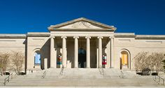Baltimore Museum of Art The BMA's grand, terraced front entrance, designed by American architect John Russel Pope.