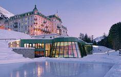 The Grand Hotel Kronenhof in Pontresina, Switzerland was named the world's top hotel.
