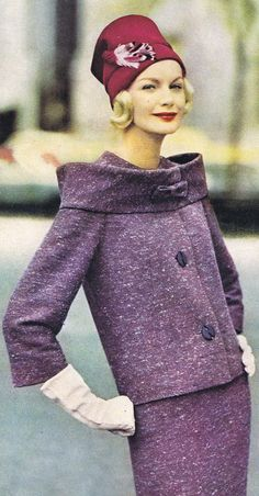 Sunny Harnett 1959 -- this outfit offers a segue into the1960s
