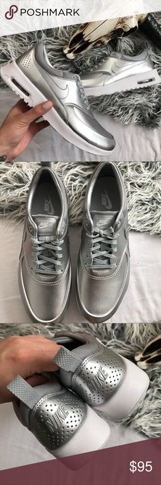 OFFER ME Nike Air Max Thea Metallic Brand new with the box  but no lid Nike Shoes Athletic Shoes