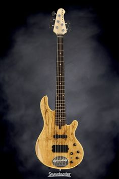Lakland Skyline 55-02 Deluxe - Spalted, Rosewood Demo | Sweetwater.com
