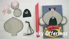 Singing Mouse Bookmark  Stampin' Up!