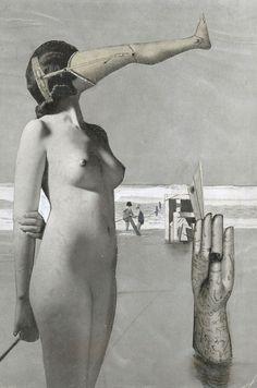 Collage Nr. 293  by Karel Teige, 1944