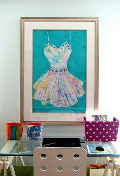 my home office/ art studio: in the studio