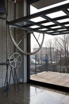 Sinjinmal Building / studio GAON | homage to Tom Kundig ?