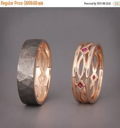 Hey, I found this really awesome Etsy listing at https://www.etsy.com/il-en/listing/509273534/sale-14k-black-and-rose-gold-eternity