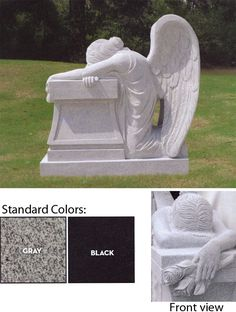 Image result for weeping angel headstone