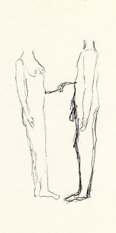 """Elise BERGAMINI -  UNTITLED (série """"So strange"""") 2009 13 x 16 cm  courtesy PapelArt"""