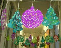 décorations et mobiles de Noël