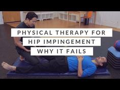Frustrated with physical therapy for femoroacetabular impingement? Feel like the exercises you're doing for hip impingement are ineffective? Hip Impingement Exercises, What You Can Do, Told You So, Hip Workout, Workouts, Physical Therapy Exercises, Hip Pain, Lose Belly Fat, Get Healthy