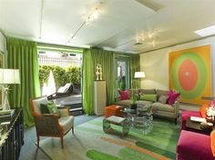 Kips Bay Showhouse contemporary living room