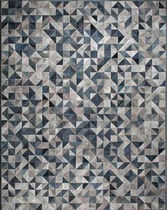 Buy Triangle by Kyle Bunting - Quick Ship designer Rugs from Dering Hall's collection of Contemporary Geometric Hide. Diy Carpet, Wool Carpet, Modern Carpet, Rugs On Carpet, White Carpet, Textured Carpet, Patterned Carpet, Fabric Textures, Textures Patterns