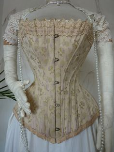 Luxurious Corset from Vienna, ca. 1890