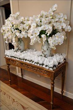 Mesa branca bem casados