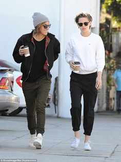 New love: Kristen Stewart's mum Jules has appeared to confirm her daughter's relationship ...