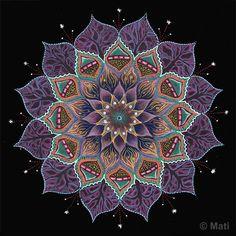 Night Hlotos Flower by Mati Reved