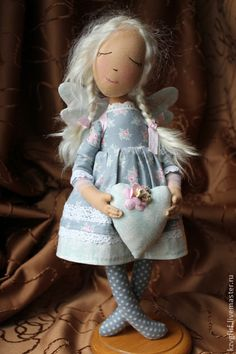 Коллекционные куклы ручной работы. Ярмарка Мастеров - ручная работа Ангел. Handmade.