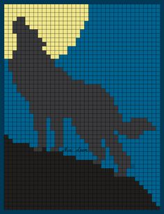 Nini Loom / Creative Recreation – Page 94 – Corner Co corner – Hama Beads Quilt Patterns Free, Loom Patterns, Beading Patterns, Cross Stitch Patterns, Pixel Art, Crochet Wolf, Wolf Craft, Crochet Bedspread Pattern, Graph Crochet