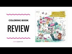 My Coloring Book - Animal Fantasy Season Coloring Book Review - Yukako Ohde- this Japanese coloring book is filled with adorably cute animals on a fantasy adventure.   Cute hedgehogs, mushrooms and other cute critters fill the pages and scenes include seasonal holidays like Christmas as well.  <3 Click through to see the full coloring book review of Animal Fantasy Season