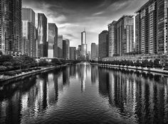 Trump Tower And Chicago River SkylineM - Chicago, IL - © 2013 Mabry Campbell