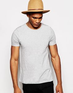 Do you have one of these?  ASOS T-Shirt With Crew Neck - Greymarl - http://www.fashionshop.net.au/shop/asos/asos-t-shirt-with-crew-neck-greymarl/ #ASOS, #ClothingAccessories, #Crew, #Greymarl, #Male, #Mens, #MensTShirtsAndVests, #Neck, #Shirt, #T, #With #fashion #fashionshop