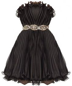Price $220.00 Up to a 2x     Pleated Millionaire Dress  Channel your magnificence wherever you go in a timeless, pleated-to-perfection masterpiece. Features an elegant strapless cut with padded bust for full support, curled ruffle trim circling the top and bottom of the dress, sparkling embellished built-in belt, and mesmerizing texture-lending pleats throughout finish.