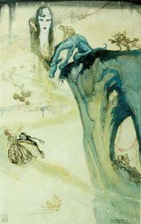 The green nightmare by William Mitcheson Timlin