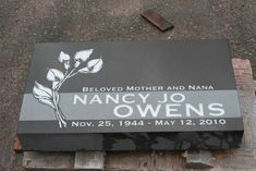 Flat grave marker set at Woodlawn Cemetery in Ferndale, WA. Flat Headstones, Cemetery Headstones, Flat Grave Markers, Headstone Inscriptions, Woodlawn Cemetery, Pacific Coast, Signage, Head Stone, Clip Art