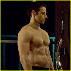 dylan bruce gives us hot pauls hot body on orphan bruce paul passion lighting