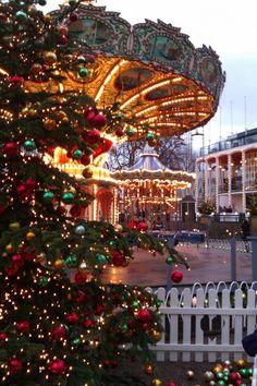 Christmas in Tivoli Copenhagen, Denmark