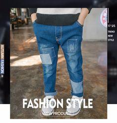 d0359151c3 F166475#2017 New Arrivals Euramerican Vintage Fashion Broken Patch Boys  Jeans Kids Pants China Wholesale