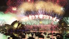 Sydney Australia at New Years