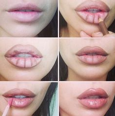 Learn to make lips appear larger!