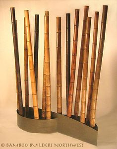 Show Screen- Bamboo Room Divider