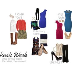 Rush outfits!