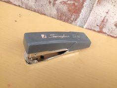Retro Grey Swingline Tot50 - Tot 50 - Small Stapler on Etsy, $4.95