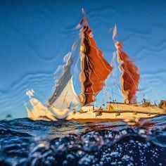 The good ship Hokule'a sails from Ko'olini Harbor to Sand Island in 2015. The crew had been sailing around the Hawaiian Islands in a mission to unite the Hawaiian culture, as it first did in 1975. Legendary Hawaiian Waterman Buffalo Keaulana was on board for the original expedition. It was an honour to be invited into this rich culture to photograph their unique way of life.