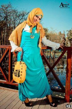 صور ازياء للبنات جميلة - ازياء محجبات مميزة - الحجاب2014