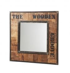 Espejos de madera de estilo Industrial : Modelo ANNAK