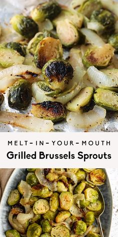 Sweet Potato Recipes Healthy, Healthy Recipe Videos, Veggie Recipes, Healthy Grilling, Grilling Recipes, Cooking Recipes, Grilled Brussel Sprouts, Brussels Sprouts, Vegan Vegetarian
