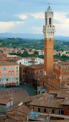 Siena, Tuscany, Italy I was up in this tower! Amazing!