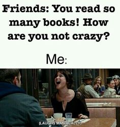Many books! How are you not crazy