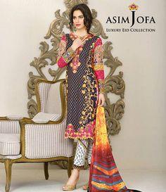 Asim Jofa Luxury Lawn Eid Collection 2015 AJL_6B