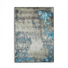 Echo Ocean Distressed Mirror