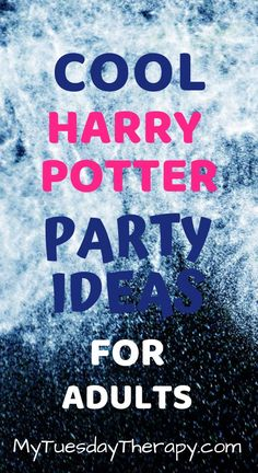 Creative Ideas for Harry Potter Themed Party Harry Potter Party Ideas For Adults. Cool ideas for hosting a fun Harry Potter Party even the adults will enjoy. Harry Potter Adult Party, Harry Potter Parts, Harry Potter Groups, Harry Potter Activities, Harry Potter Theme, Harry Potter Birthday, Adult Party Decorations, Harry Potter Party Decorations, Party Themes