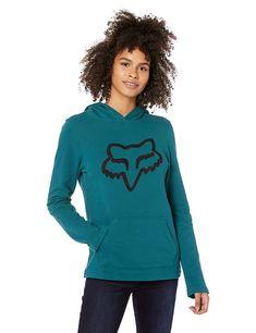 RVCA Womens Cedia Patch Long Sleeve Hooded Sweatshirt