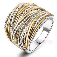 18K Gold plated   Ring