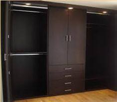 Image result for closets modernos de madera